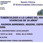 """""""La Tuberculosis a lo largo del mundo. Vivencias de 20 años"""""""